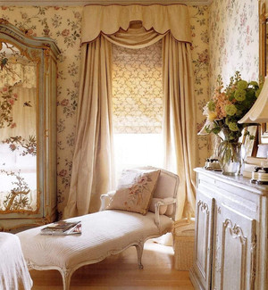 欧式别墅窗帘效果图
