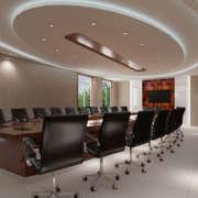 会议室设计背景墙图