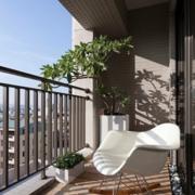 阳台设计吊顶图