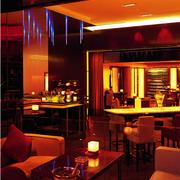 酒吧设计背景墙图