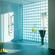玻璃砖隔墙室内图