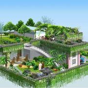 完美的花园设计造型图