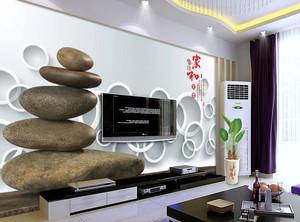 现代电视背景墙造型图
