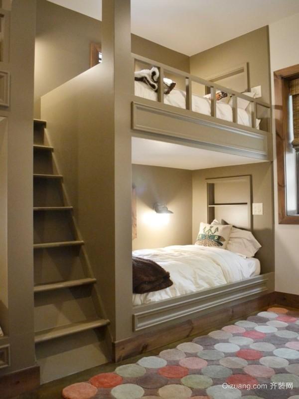 最新清新质感风尚双层床