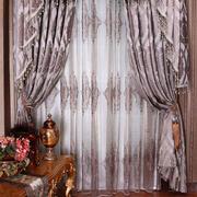欧式窗帘整体设计