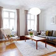 沙发背景墙设计飘窗图