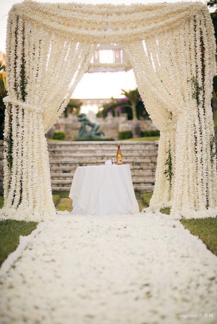 浪漫唯美婚庆布置图片