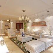 沙发背景墙设计色调搭配