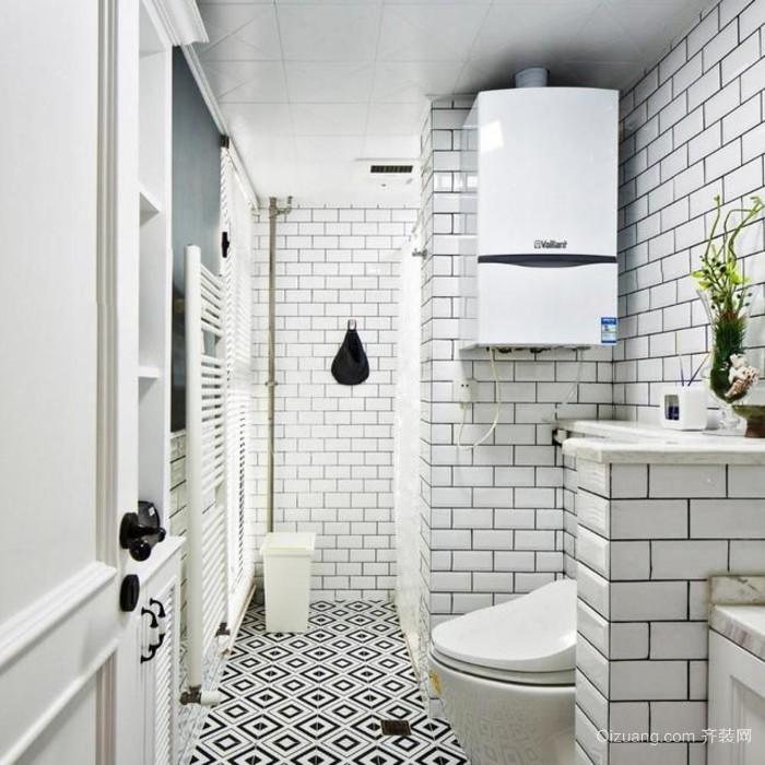 兼具时尚与创意的单身公寓装修效果图