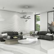 唯美现代客厅图