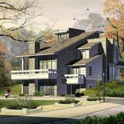 别墅设计整体图