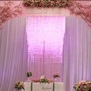 婚庆设计窗帘造型图