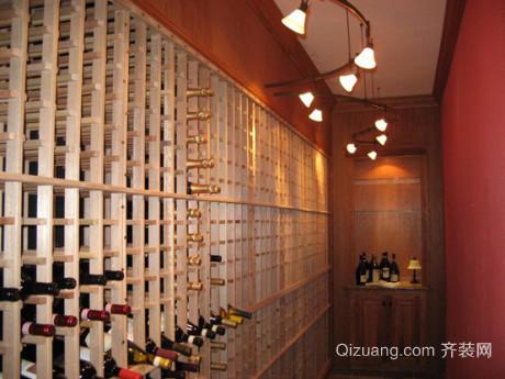 欧式家装整体酒柜设计效果图