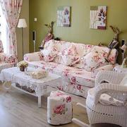 沙发背景墙设计室内图