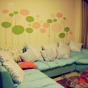 儿童房装修背景墙图