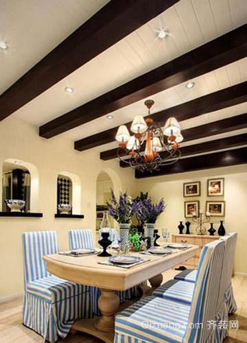 50平地中海风格欧式客厅装修效果图