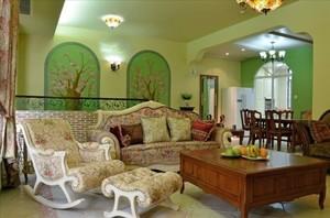 欧式客厅地中海风格茶几图片