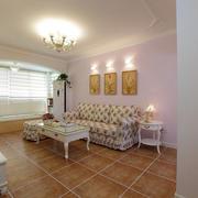 沙发背景墙设计灯光设计