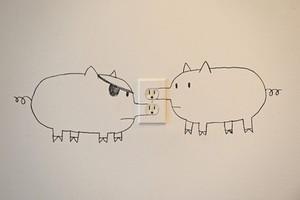 幼儿园创意卡通墙绘素材集
