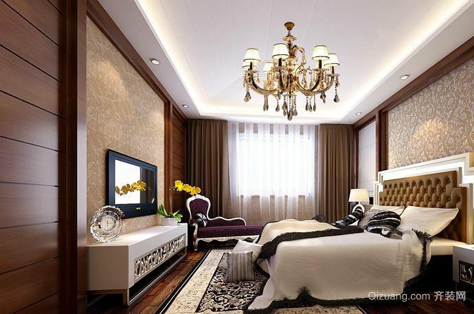 大户型巴洛克风格卧室装修效果图
