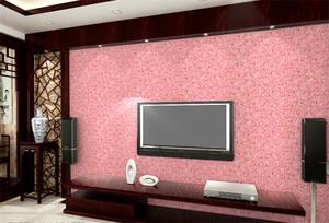自建别墅美式清新客厅墙衣装修效果图