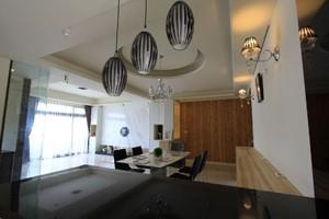 日式客厅吊顶装修效果图