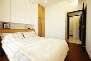 单身公寓卧室装修设计效果图