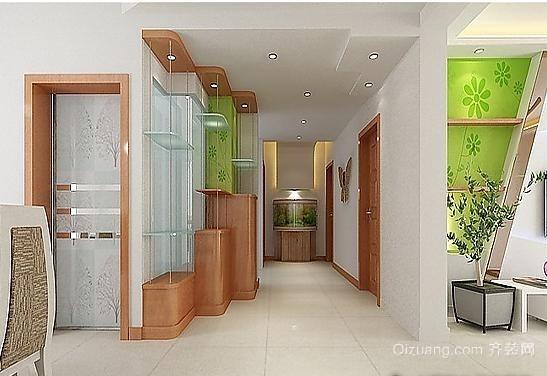 都市大户房新古典型客厅玄关鞋柜装修效果图