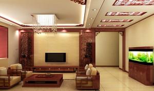 中式风格复式楼中式家装效果图