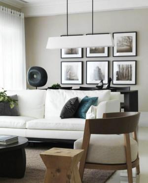 小户型客厅装饰画装修效果图
