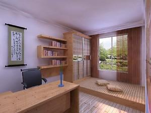 70平米日式卧室榻榻米装修效果图