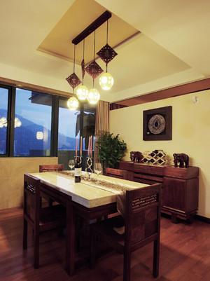 中式餐厅吊灯装修效果图