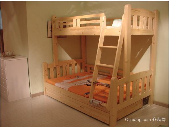儿童双层床卧室装修效果图