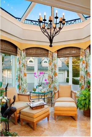 别墅露台阳光房装修效果图