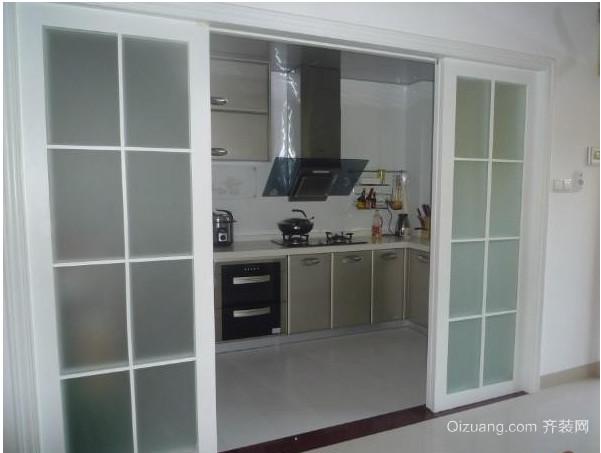 厨房推拉门装修效果图