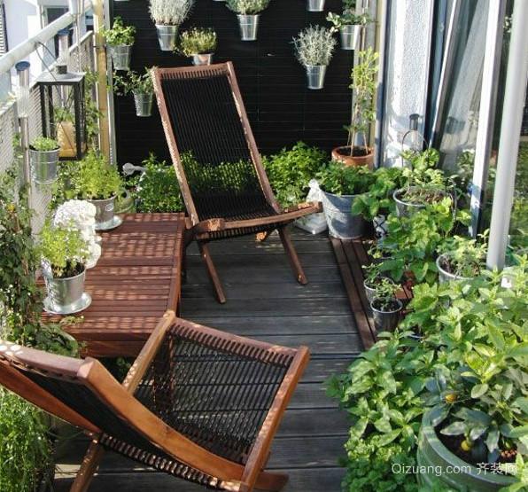 阳台花架装修效果图