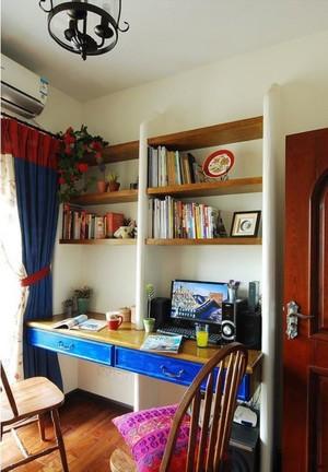地中海风格书房装修效果图