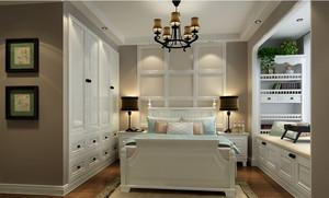 复式楼日式卧室榻榻米背景墙装修效果图