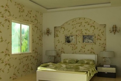 臥室壁紙裝修效果圖