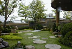 别墅花园装修效果图