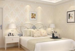 欧式风格卧室墙纸效果图