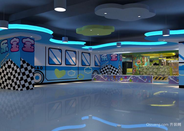 室内儿童游乐场装修设备效果图