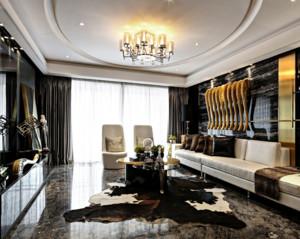 全新室内客厅大理石茶几装修设计效果图欣赏