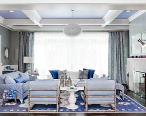 三室两厅两卫地中海风格装修效果图