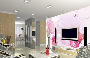 现代农村小洋楼客厅电视背景墙装修外观效果图