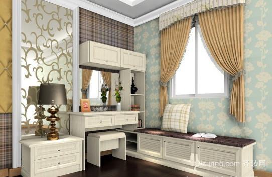 精美简约风格卧室梳妆台装修效果图