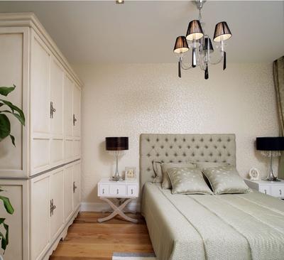 简约风小卧室衣柜设计装修效果图