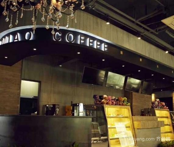 北欧复古咖啡店装修效果图