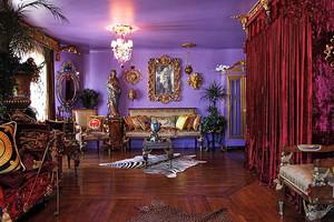奢华巴洛克风格客厅装修图