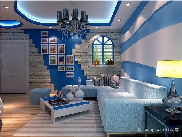 地中海风客厅装修图片